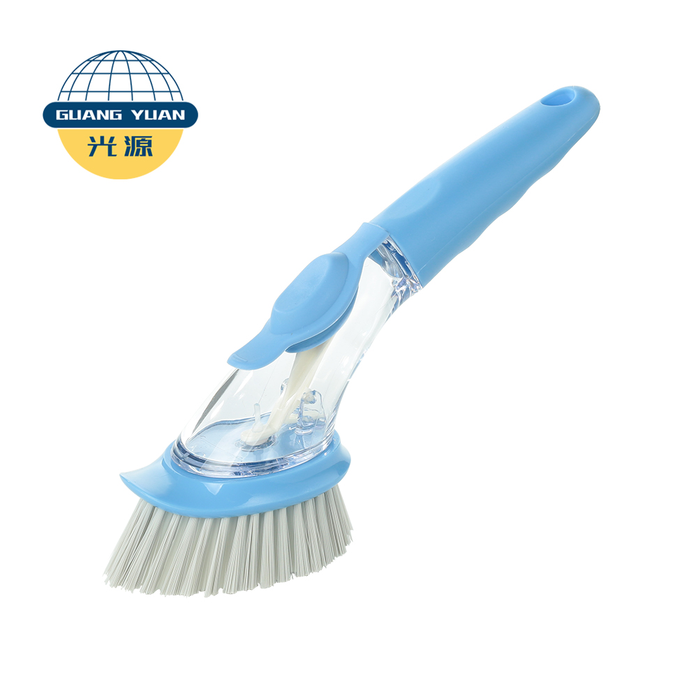 NGY deep clean liquid soap Dispensing Kitchen Dish Brushes sink scrubber kitchen grill home dish brush