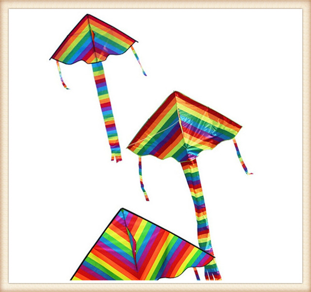 Factory Child Triangle Color Kite