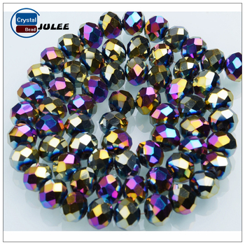 C75-C122 Rondelle Beads 4mm 6mm 8mm Wholesale Crystal Glass Beads