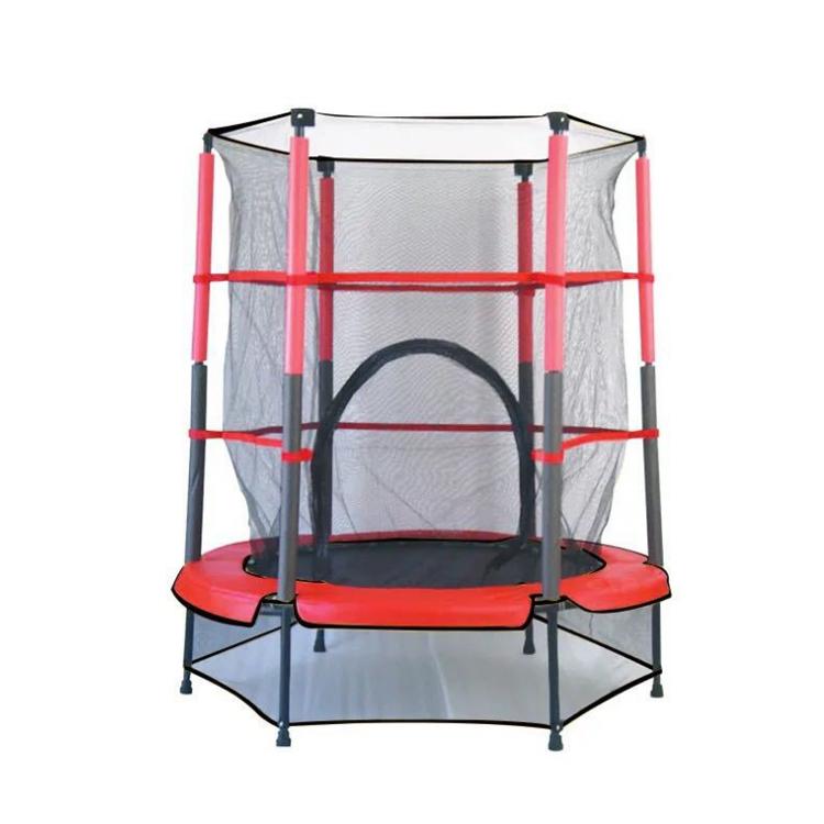 Детское оборудование для фитнеса, батут с защитой 360 градусов, домашний батут для детей с защитной сеткой