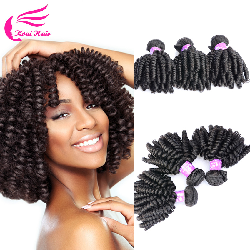 New Crochet Braid Hair 4 Bundles Brazilian Curly Virgin
