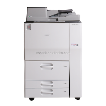 Used copiers remanufactured copier machine parts copier machine MP7502 black and white printer