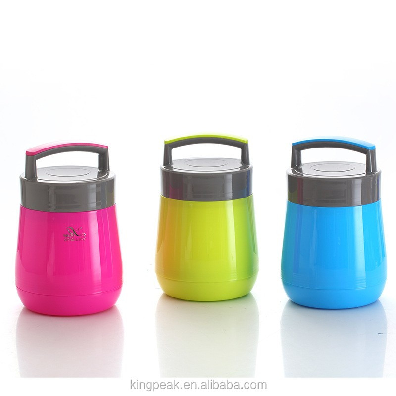2016 New Product Insulated Glass Hot Food Vacuum Flask