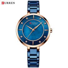 CURREN женские часы водонепроницаемые Топ брендовые роскошные серебряные женские часы из нержавеющей стали классические женские наручные ча...(Китай)