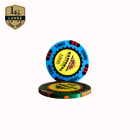 Poker 14g Plastic Injection Molded Nylon Poker Chips With Custom Logo