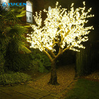 Tree Light Led Lights Led Tree Light H:15ft Christmas Artificial Tree Light Red Outdoor Led Cherry Blossom Tree Lights