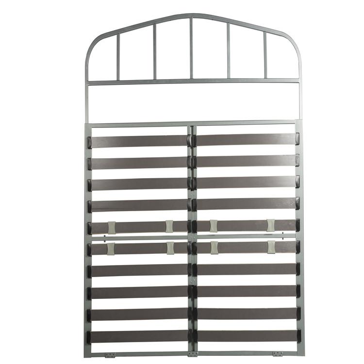 Adjustable Queen bed frame for caravan bed