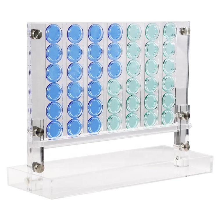 Jayi High-end Подарок Прозрачный Акриловый четыре в ряд подарочный набор