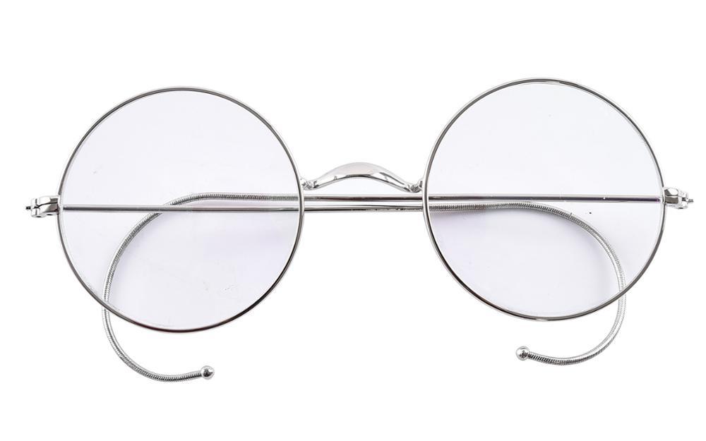 Agstum 47 мм круглая оптическая редкая оправа для очков в стиле рецепта без носоупоров античные очки Rx(Китай)