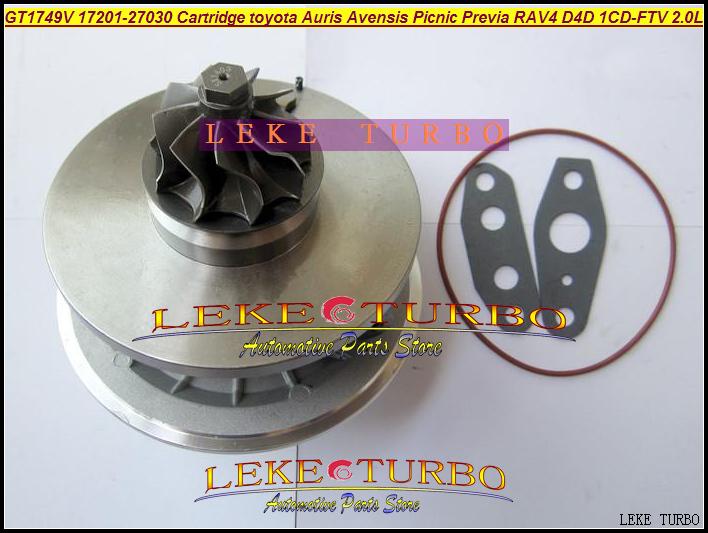 buy turbo cartridge chra gt1749v 17201 27030 721164 turbocharger for toyota. Black Bedroom Furniture Sets. Home Design Ideas