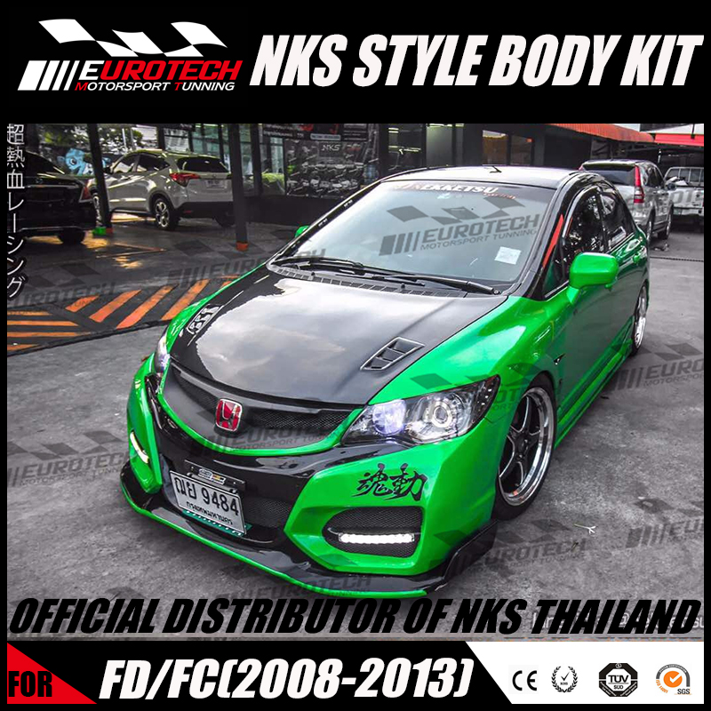 100 Original Design Official Copyright Of Nks Abs Frp Material Body Kit For Hon D A Civic Fd2 Fc Fb 8 Generation 2008 2013 Buy Civi Wide Body Kit Body Kit For Fd2 Fc Body Kit For Honda Civi Product