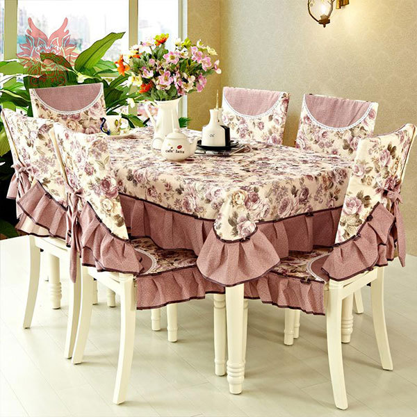 buy free shipping luxury floral print patchwork table cloth dining table cover. Black Bedroom Furniture Sets. Home Design Ideas