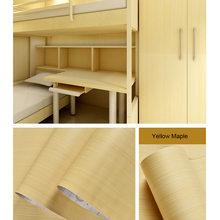 Самоклеящиеся деревянные обои, мебель для ремонта, наклейки для ванной, водостойкая ПВХ виниловая настенная бумага для кухни и ванной комна...(Китай)