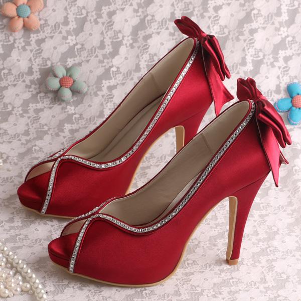 designer red wedding shoes - photo #24