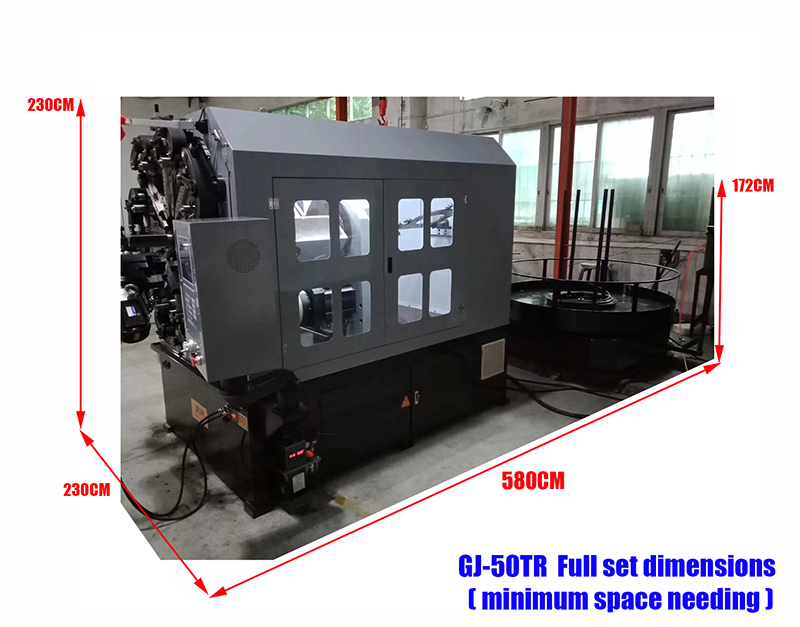5 axis 5mm universal cnc spring machine Cam automatic with wire rotary