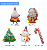 Wholesale Christmas Santa Claus/ Christmas Tree Party Decoration Foil Balloon