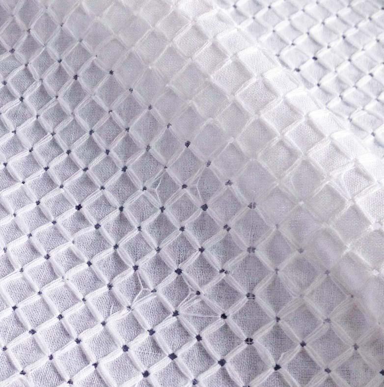 tissu de coton broderie voile oeillet dentelle tissu pour robe de fille blouse jupe de mariage. Black Bedroom Furniture Sets. Home Design Ideas