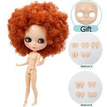 Ледяной обнаженный blyth кукла нормального тела и сустава тела Лицевая панель и ручной набор в подарок на продажу 1/6 шарнирная кукла нео азон, ...(Китай)