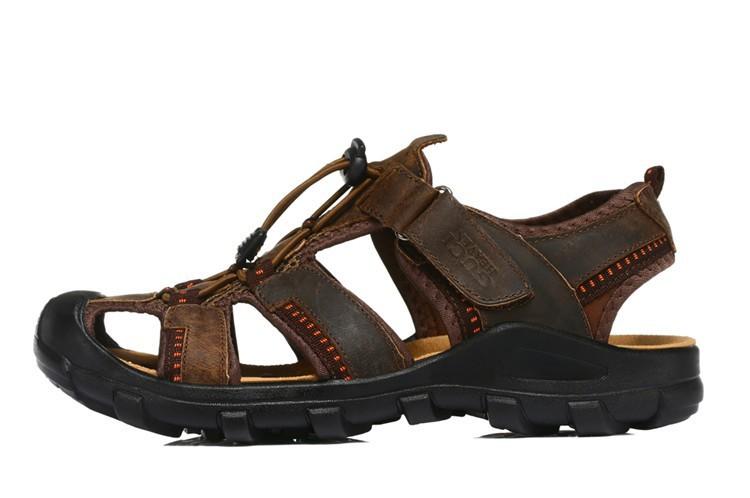 4a2f8a471c8 Ehtsast nahast vastupidavad meeste sandaalid