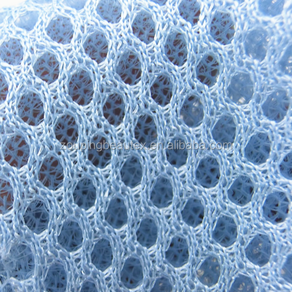 Polyester 3d air spacer mesh warp knit fabric