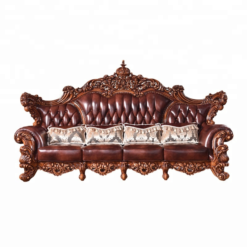 Antique Style Sofa Set For Living Room Furniture Genuine Leather Sofa Victorian Sofa Buy Antique Leather Sofa Victorian Style Leather Sofa Lobby Genuine Leather Sofa Product On Alibaba Com