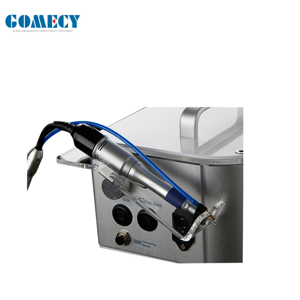 GOMECY Vacuum Hand Piece Electric Nail Drill 35000 Rpm Rechargeable Drill Pedicure Manicure Machine