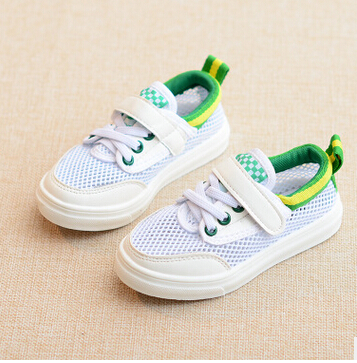 2016 summer Children s Shoes boys Casual Shoes girls shoes baby Mesh surface shoes Soft and