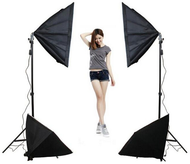 Studio Lighting Software: Professional Photography Softboxes Combination 50x70CM X4