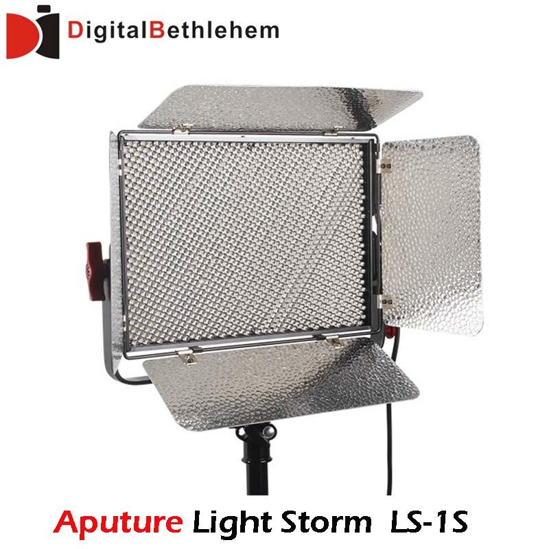 Новый! Aputure свет шторм LS 1 s высокого CRI 95 + свет шторм студия видео из светодиодов фотография свет с 2.4 ГГц беспроводной пульт дистанционного
