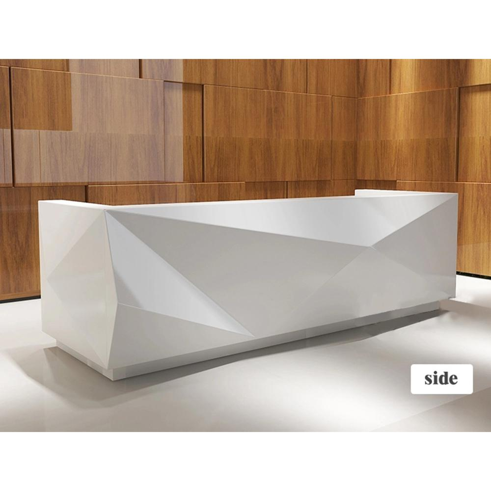 Modern Designs High Quality Office Front Counter Reception Desk Reception  Table L Shaped Front Office Salon Reception Desk - Buy Reception