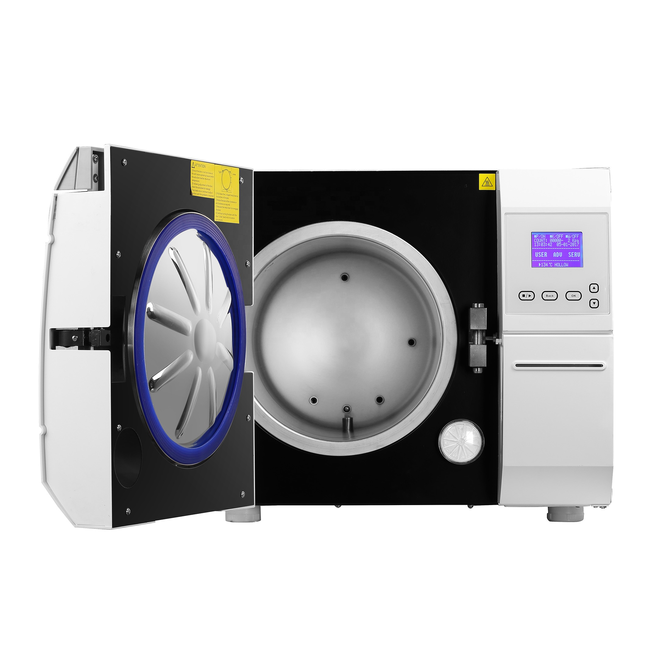 China CE Approved Cheap New Class B High Quality Autoclave Steam Sterilizer