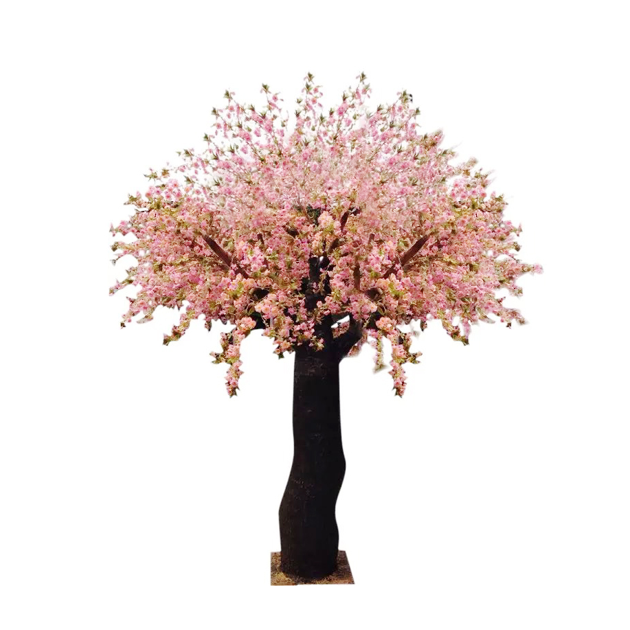 Arts&crafts Pink Peach Blossom Tree Wedding Flower Tree Home Decoration  Artificial Tree   Buy Cherry Blossom Tree Wedding Decoration,Wedding Table  ...