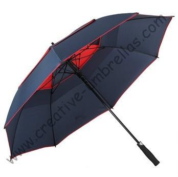 3 человек спорт стекловолокна гольф зонтик, открытый спорт зонтики, авто открытым. автомобиль зонтики, ветрозащитный, анти-thunderbolt