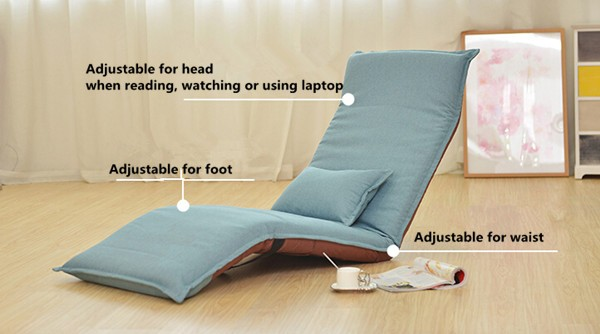 Brilliant 2019 Japanese Chaise Lounge Chair Living Room Furniture Floor Seating Adjustable Foldable Upholstered Folding Lazy Lounger Sofa Bed From Klphlp01 Ibusinesslaw Wood Chair Design Ideas Ibusinesslaworg