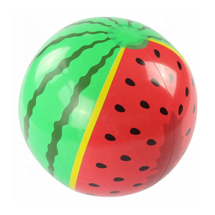 2019 Factory Cheap Beach Adult/Kids Inflatable Small Watermelon beach Ball
