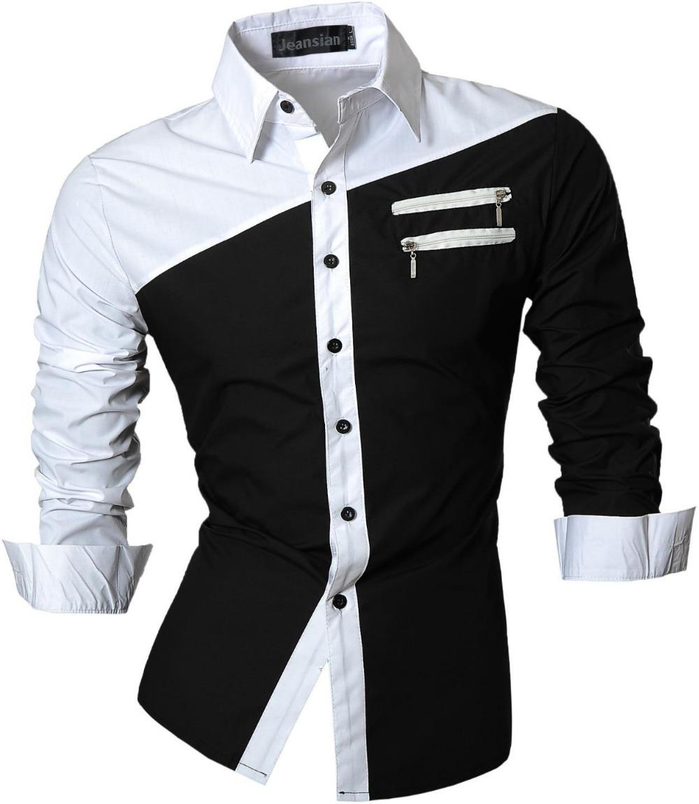2016 Men Clothes Designers Mens Fashion Simple Style Dress ...