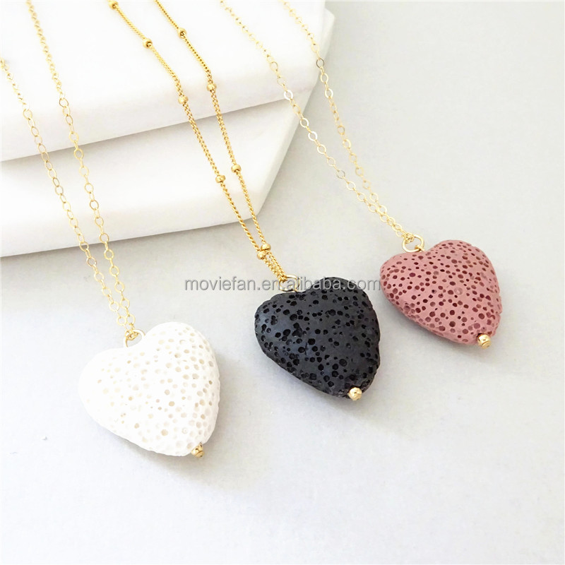 Diffuser Necklace Oil Diffuser Necklace Aromatherapy Necklace Lava Rock Elephant Necklace Lava Stone Necklace Essential Oil Necklace