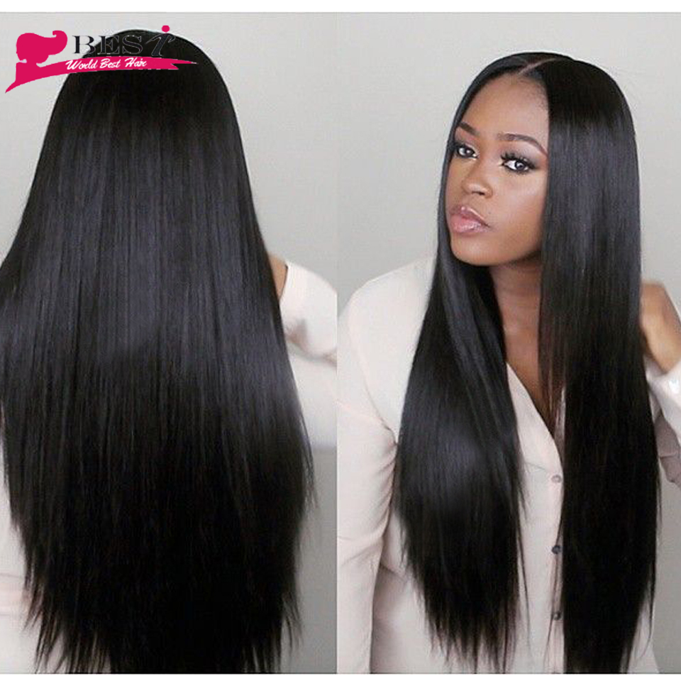 Malaysian straight hair 8a grade virgin unprocessed human ...