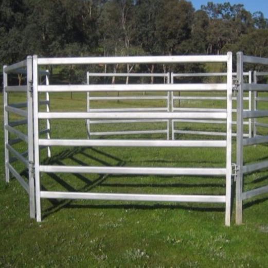 2,1 м x 1,8 м, 6 направляющих, портативные ручки для крупного рогатого скота, ярдовые панели, Прямая поставка с завода