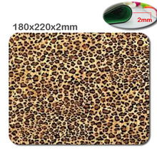 Custom sexy tiger leopard print wallpaper printing computer accessories laptop slim mouse mat mat was accelerated