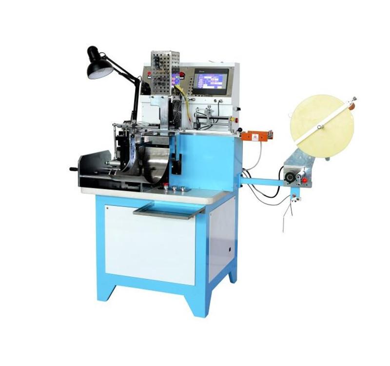 Ultrasonic Printed Label Cutting And Folding Machine