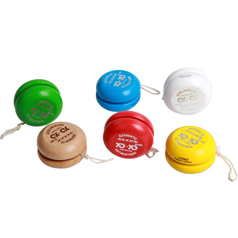 Оптовая продажа деревянный yoyo для детей игрушки йойо Деревянный Магический йо-йо