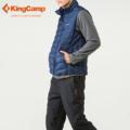 KingCamp Winter Outdoor Extra Light Packable Down Vest 90 Down Jacket Men s Sportswear Windstopper Duck
