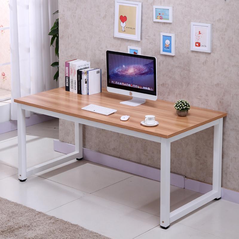 Modern Simple Style Computer Desk Pc Laptop Table Office Desk Pc Laptop Table Wood Work Station Study Home Office Furniture Buy Modern Simple Computer Desk Office Working Table Wood Metal Office Computer Desk