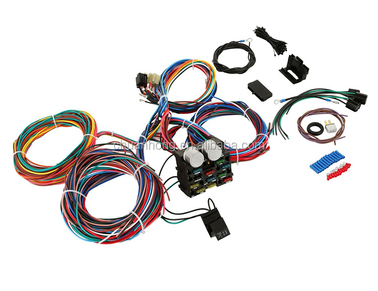 tuning repair fuse panel wiring harness 12 circuit way wire kit fit gm ford  pickup car trucks with diagram - buy ford tuning harness,12 circuit wire  harness,universal 12 circuit wire harness product  alibaba