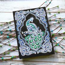 Ежедневник AZQSD A5, алмазная живопись, цветы, блокнот специальной формы, дрель, вышивка в подарок, сделай сам(Китай)