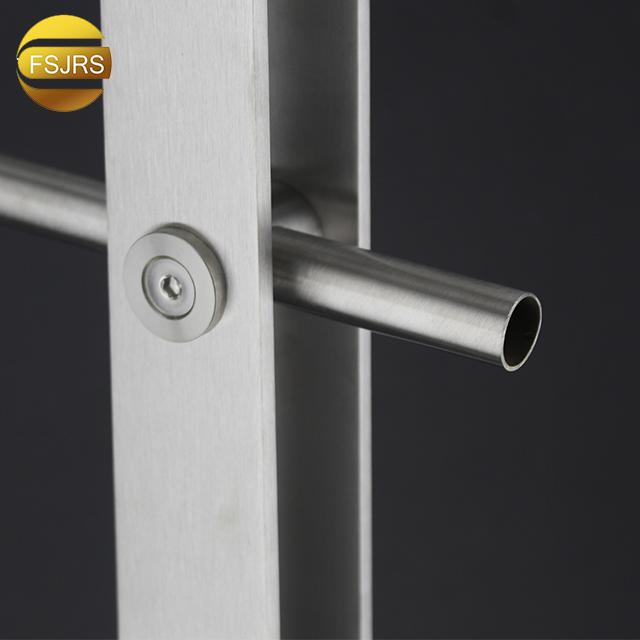 Фурнитура Foshan Fsjrs, современные металлические наружные ограждения для балкона, сада, поперечного бара, ограждения, террасы, дизайн стойки