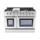 "48"" Professional freestanding electric range with oven for home residential"