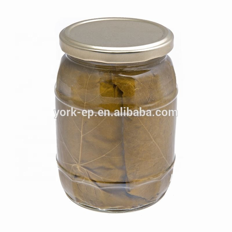 Fresh Style salted grape leaves in Can