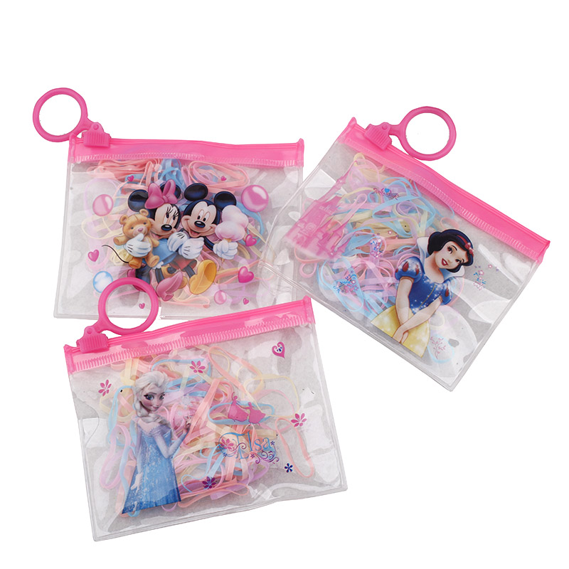 2016 hair accessories new children candy color tie baby girls strong pull rubber band elastic hair